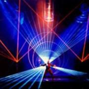 Шоу лазерное фото