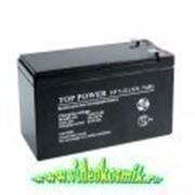 Аккумулятор 12 В, 7 Ач - Аккумулятор герметичный свинцово-кислотный, Неизвестный производитель фото