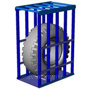 Клеть для накачки колес 506 А фото