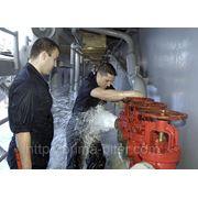 Испытание пожарного водопровода фото