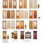 Двери из массива дуба и ясеня фото