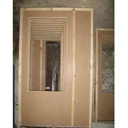 Дверь оргалитовая фото