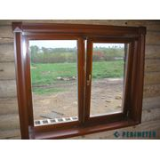 Деревянные окна и двери фото