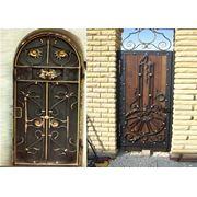 Двери кованные фото