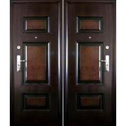 Дверь Двухцветная фото
