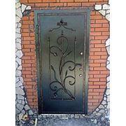 Кованные двери фото