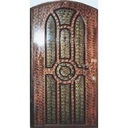 Металлическая дверь с отделкой пластиком П1 фото