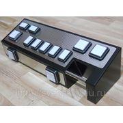 Кнопочная консоль Gaminator светодиоды и нержавейка фото