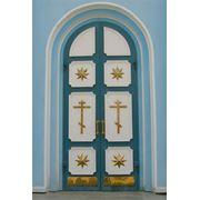 Двери храмовые фото
