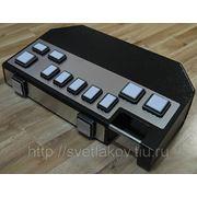 Кнопочная консоль с компьютером светодиоды и нержавейка фото
