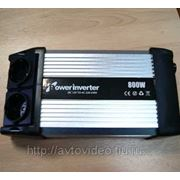 Преобразователь напряжения (инвертор) 12В/220В мощность 800/1600 Вт фото
