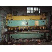 Гильотинные ножницы =32х3150мм. мод. НА 3225, Азов, 1989г без эксплуатации.