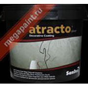 Шелковисто-серебристая финишная декоративная краска ATRACTO SILVER фото