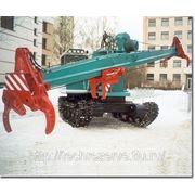 Сучкорезная машина ЛТК-08 на базе валочно-пакетирующей машины ЛП-19 фото