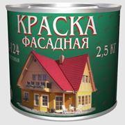 Краска фасадная АК-124 фото