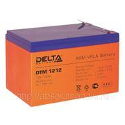 Аккумуляторная батарея Delta DTM 1233 фото