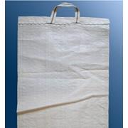 Мешки полипропиленовые вес - 5 кг. размер 30х50 с ручкой и логотипом фото