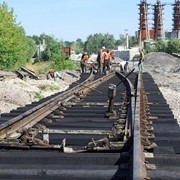 Ремонт подъезных железнодорожных путей и стрелочных переводов фото