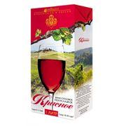 Вино столовое красное полусладкое фото