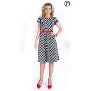 Платье с поясом 543-1 фото