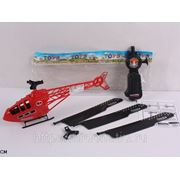 Вертолет 568-4 с пускателем, в пакете 28см (832689) фото