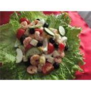 салаты из морепродуктов фото
