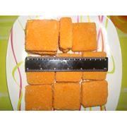 Филе Горбуши порц. в панировке (кубик100 гр)