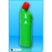 Пластиковый флакон под средства для унитазов Ф60 фото