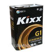 KIXX G1 SM/CF 10W40, масло моторное, VHVI-полусинтетика, 4л фото