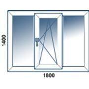 Окна вертикальные распашные