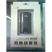 Зарядное устроиство SSK SRBC 506 Portable Power Bank for iPhone 4/4S, Samsung, NOKIA Phones (5000mAh) фото