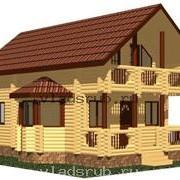 Проект дома деревянного фото