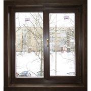 Деревянные рамы со стеклопакетами двери фото