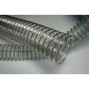 Вакуумный шланг из полиуретана для деревообработки и мебельного производства «ТПУ З» д. 50-400 фото