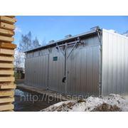 Сушильная камера для древесины СМ3000 25 куб.м