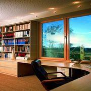 Деревянные окна из сосны фото
