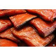 Рыба сахалинская копченая отличного качества малосольная очень вкусная фото