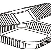 Упаковка пластиковая АЛЬФА-ПАК ПС-113 прозрачная фото