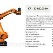 Робот KUKA для паллетирования KR 180 R 3200PA фото