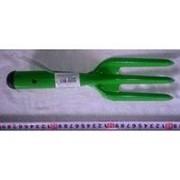 Вилка садовая с металл ручкой, 27см (720) /200/ фото