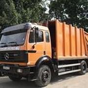 Вывоз мусора авто транспортом фото