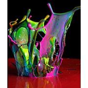 Люминесцентные краски фото