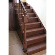 Лестницы из массива фото