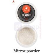 Зеркальная пудра Metalic mirror powder Gold F.O.X фото