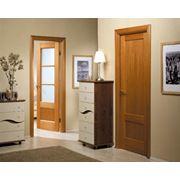 Деревянные двери из сосны фото