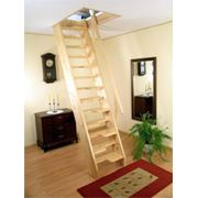 Деревянная экономичная лестница «Мельника KA» фото