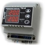 Терморегулятор ТК-6 6А 2-канальный фото