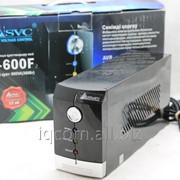 Источник бесперебойного питания 600VA 360W SVC V-600F 1x12V 9.0 Ah Box фото
