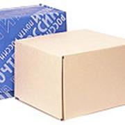 Почтовая коробка 425*265*380 бурая фото