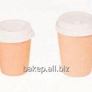 Стакан для горячих напитков Крафт CUP 250C фото